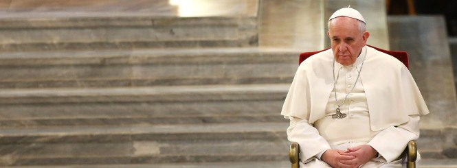 Pope Francis Meets Relatives of the Mafia's Victims